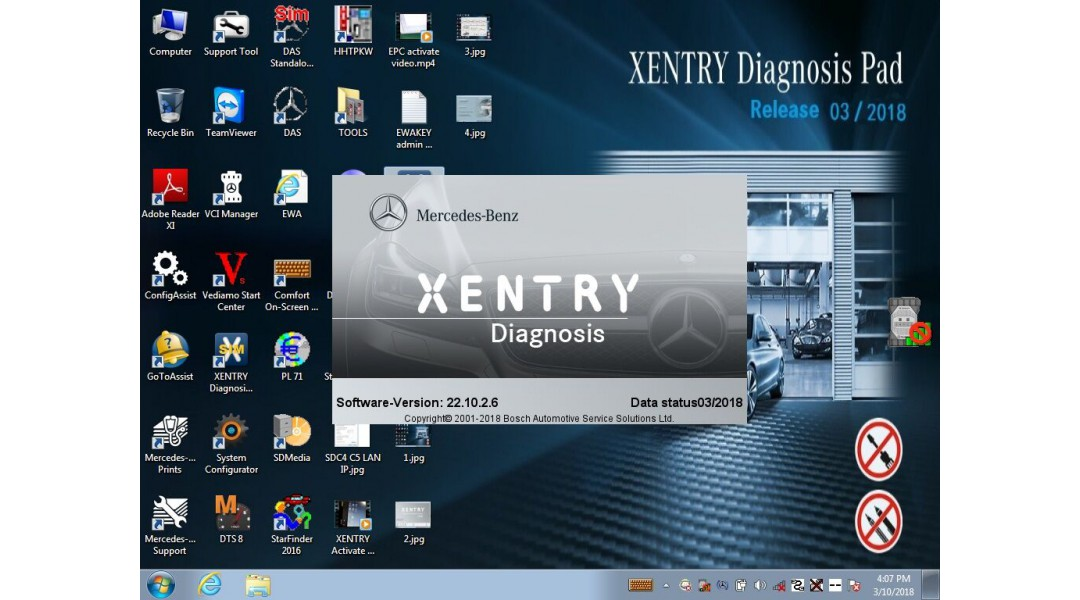 Xentry, WIS, EPC,Starfind...