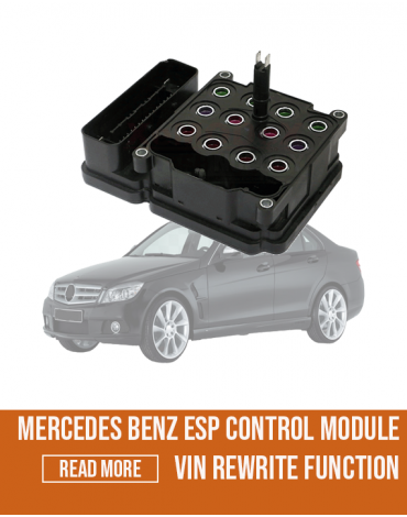 Mercedes Benz ESP Control Module VIN Rewrite Function